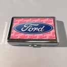 Pink Ford Business Card Holder
